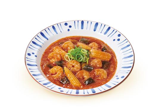 エビチリ皿
