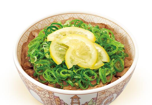 ねぎ塩レモン豚丼