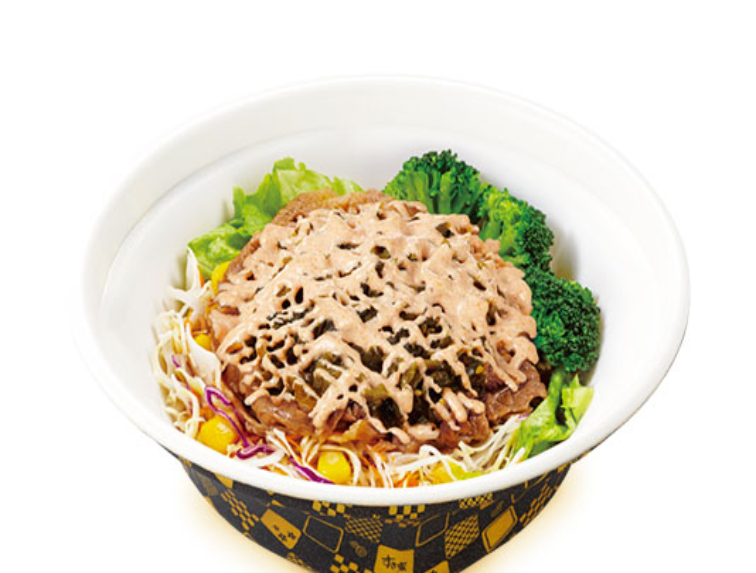 高菜明太マヨ牛丼ライト